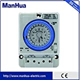 Website Business Manhua 24h 100 to 240VAC Electro Mechanical Switch Timer TB35N