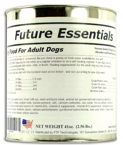 Future Essentials Canned Dry Dog Food-Long Shelf Life