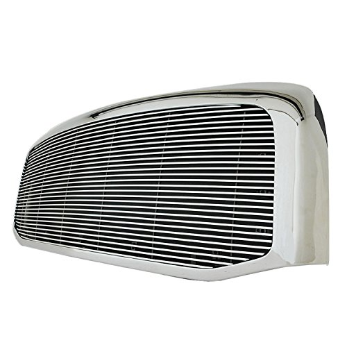 Paramount Restyling 42-0347 Full Replacement Packaged Billet Aluminum Grille with 4 mm Horizontal Bars