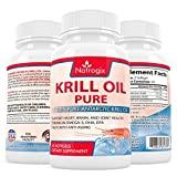Best Krill Oils - (60 Softgels) Pure Krill Oil 1000mg/Serving - Rich Review
