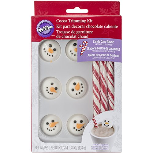 Wilton Snowman Cocoa Trimming Kit (2104-6033) -