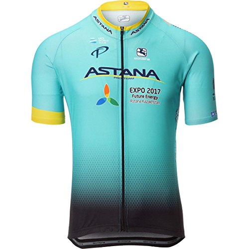 Giordana Vero Pro Astana Team Jersey - Men's Astana, XXL