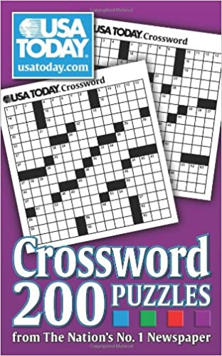picture relating to Usa Today Crossword Printable named United states of america These days Crossword: 200 Puzzles in opposition to The Countries No. 1