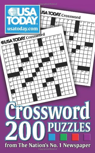 Pdf Humor USA TODAY Crossword: 200 Puzzles from The Nation's No. 1 Newspaper (USA Today Puzzles)