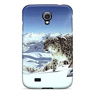 LatonyaSBlack Galaxy S4 Hybrid Tpu Case Cover Silicon Bumper Snow Beauties