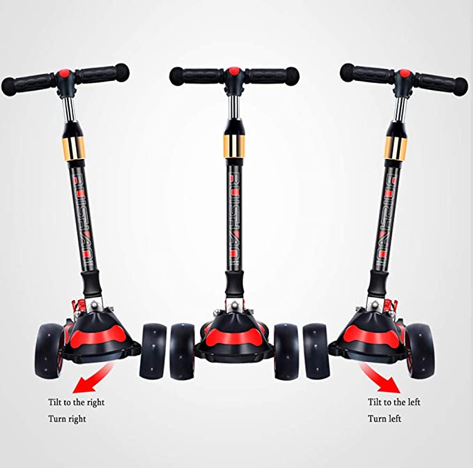 Amazon.com: K&G Scooter para niños - Ruedas plegables LED ...
