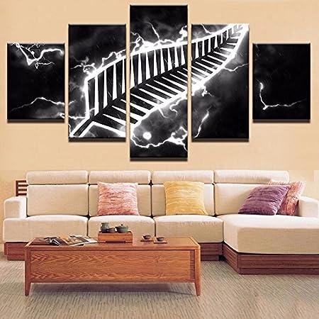 Wall Kunstdrucke Bild Moderne Dekoration Wohnzimmer Oder Schlafzimmer  Leinwand 5 Stück Sport Drucken Malerei Wand Bild
