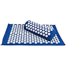 Go Acupressure Mat | Most Effective Massage Mat for Muscle Relaxation, Neck and Back Pain Sciatica Tension Stress Relief, Better Sleep and Improved Blood Circulation | Premium Cotton and Eco Foam