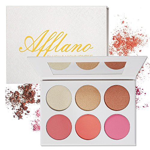 Blush Bronzer Highlighter Palette - 4