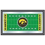 Trademark Gameroom NCAA University of Iowa Framed Logo Mirror
