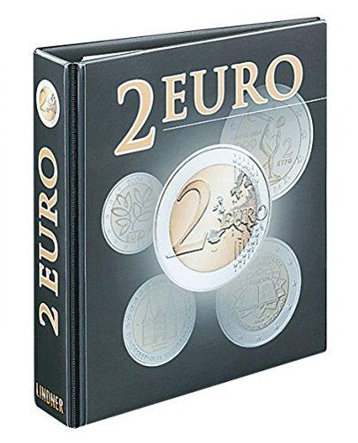 942a466459 PUBLICA M Album per monete 2 euro [Lindner 3535R], Raccoglitore ad anelli in
