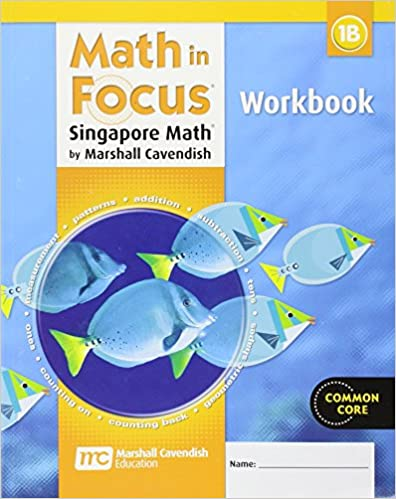Math in Focus: Singapore Math: Student Workbook, Book B Grade 1 ...
