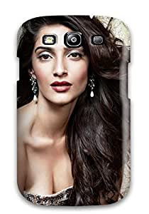 Tpu Shockproof/dirt-proof Bollywood Actress Sonam Kapoor Cover Case For Galaxy(s3)