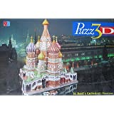 St-Basil's Cathedral, 708 Piece 3D Jigsaw Puzzle Made by Wrebbit