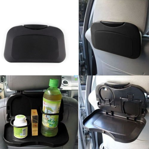 BatterElec(TM) NEW Folding Auto Car Back Seat Table Drink Food Cup Tray Holder Stand Desk (Folding Food Tray For Car compare prices)