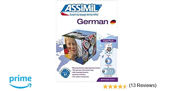 Amazon.com: Assimil German with Ease - Learn German for English ...