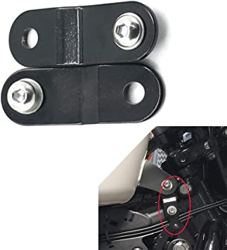 """Pair Raise Front 2/"""" Gas Tank Lift Kit w// Bolt For Harley Sportster XL 1200 883"""