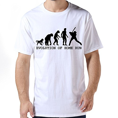 Custome Men Evolution Home Run T-shirts
