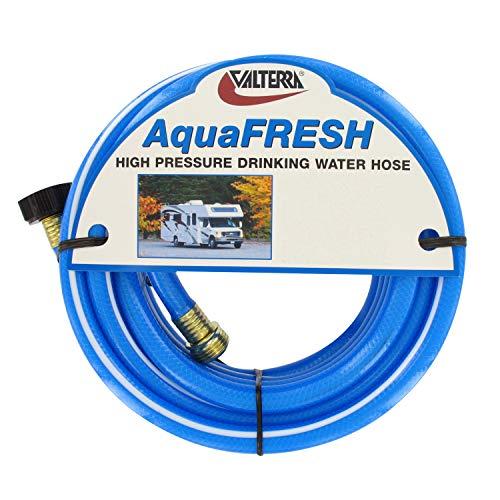 Valterra 1/2 Inch x 50 feet W01-8600 AquaFresh High Pressure Drinking Water Hose Savers-1/2 x 50', Blue ()