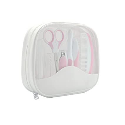 Neceser Baby Kit 7pcs rosa: Amazon.es: Bebé