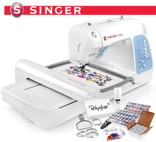 Singer Futura XL40 XL 40 Computerized Sewing Embroidery Stunning How To Thread A Singer Futura Sewing Machine