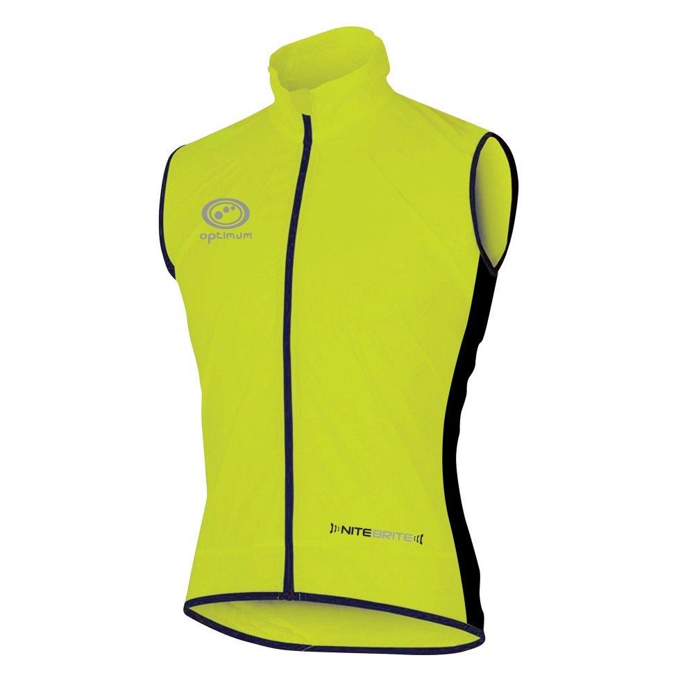 OPTIMUM Nitebrite - Chaleco de Ciclismo para Hombre Verde Verde Talla:XX-Large