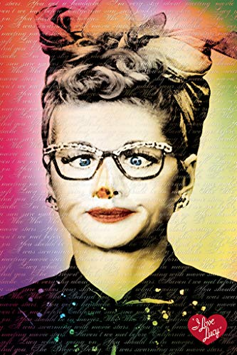 I Love Lucy Glasses Poster 241088