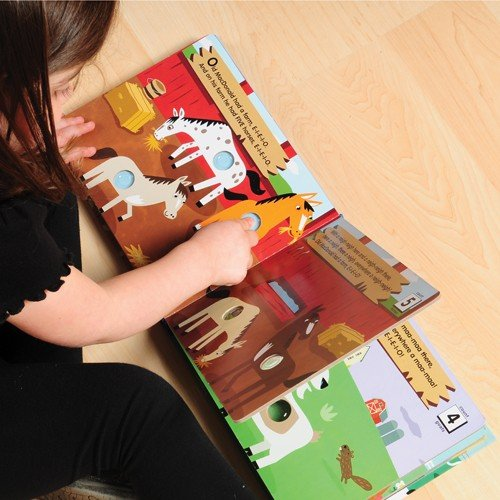 Set of 3 Poke-A-Dot Interactive Books for Young Readers