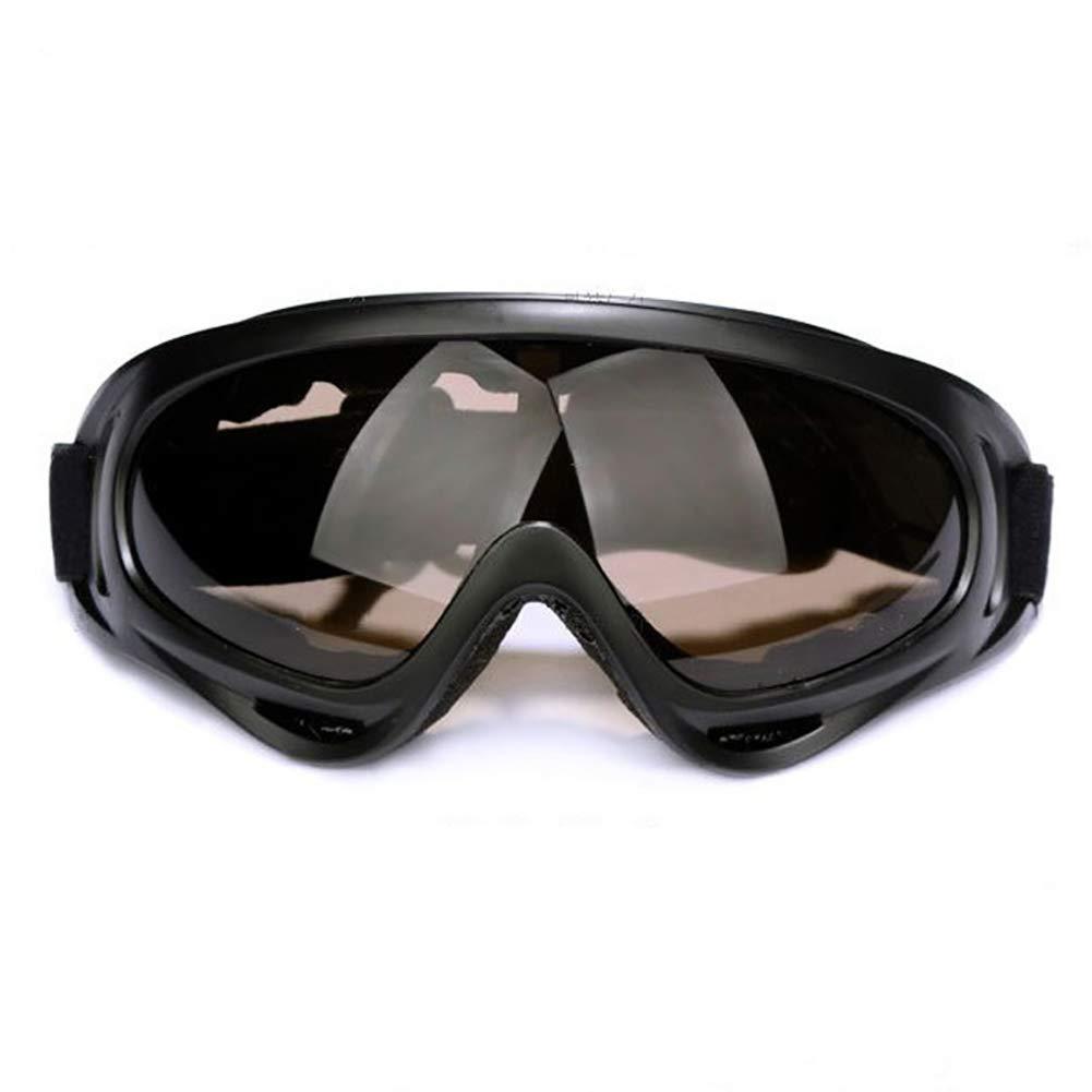 Sport Lunettes de ski 100% Uv Protection moto à vélo Lunettes réglable de coupe-vent et anti-poussière Lunettes SNOWBOARD - coloré