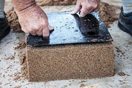 12 Inch Cross Screen Patio Wall Concrete Cement Mold