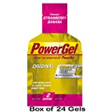 PowerBar Power Gel - 24 x 41g Pack(s) - Strawberry Banana
