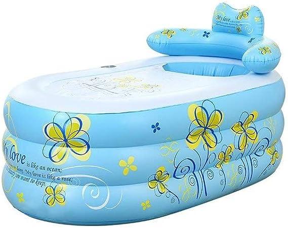 BHDYHM Swim Center Paradise Piscina Inflable, Piscinas para niños Piscina Grande Inflable Bañera Inflable Tomar un baño Barril Bañera para niños Piscina para niños: Amazon.es: Hogar
