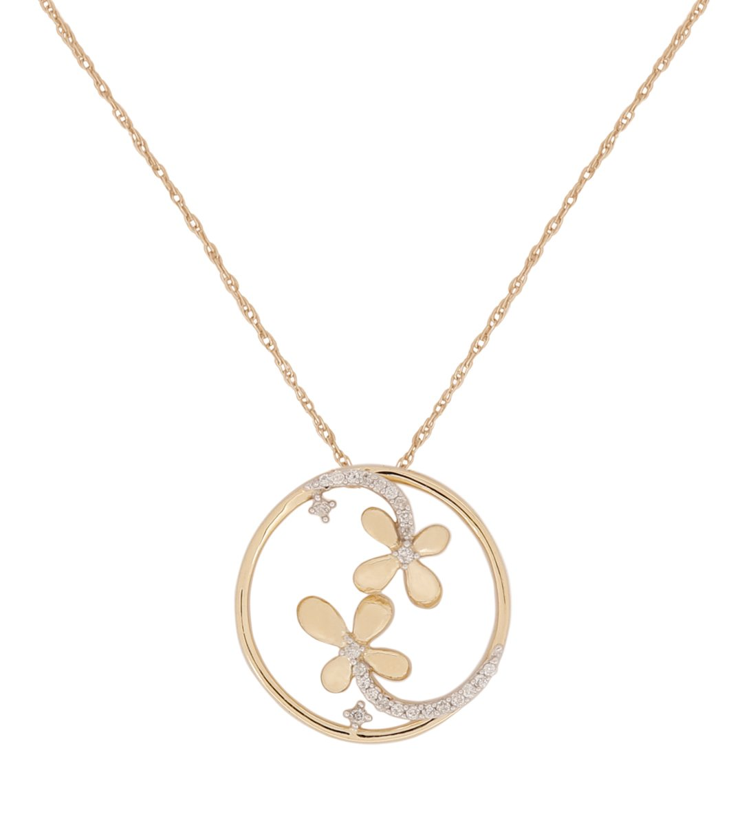 Pendants for Women Tree of Life Girls Necklaces by Store Indya (Gold/Silver/Yellow)