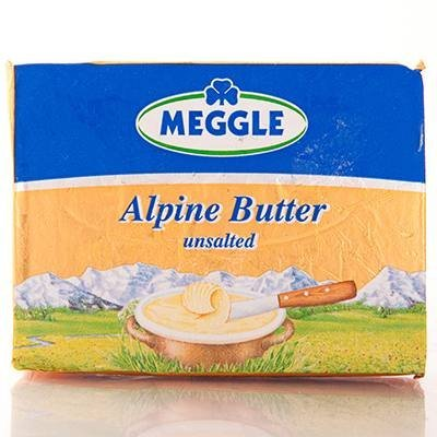 (pack of 2) Imported German Alpine Butter 250g by Meggle