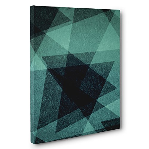 Abstract Angles CANVAS Wall Art Home Décor by Paper Blast