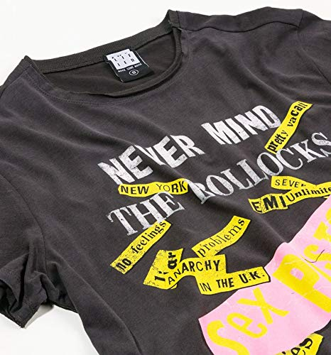 The Sex Mind Pistols T Charcoal Never Shirt Bollocks From Amplified 7qxvXTq