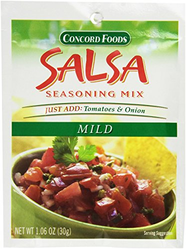 Concord Salsa Mix Mild - 3 of 1.06 oz pouches