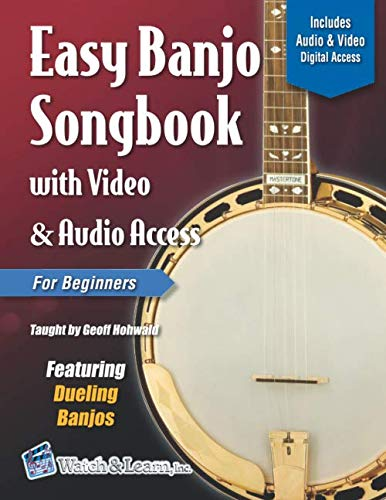 - Easy Banjo Songbook for Beginners with Video & Audio Access