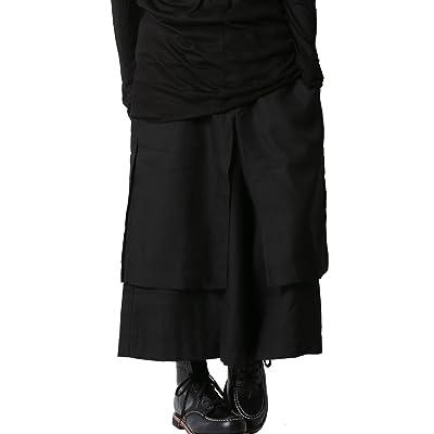(アズスーパーソニック) AS SUPER SONIC ワイドパンツ スカート付 ガウチョ モード系 日本製 メンズ