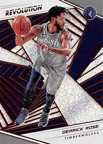 b22196ebf8d Amazon.com  2018-19 Panini Revolution  91 Derrick Rose Minnesota  Timberwolves Basketball Card  Collectibles   Fine Art