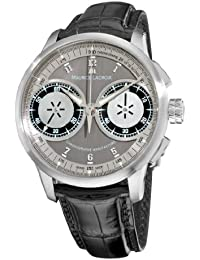 Men's MP7128-SS001320 MasterPiece Grey and Silver Dial Watch