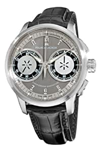 Maurice Lacroix Men's MP7128-SS001320 MasterPiece Grey and Silver Dial Watch