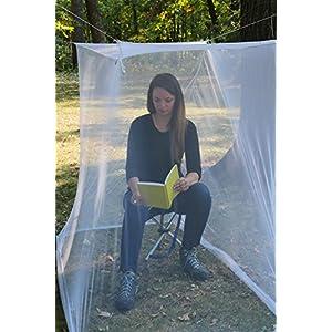 Coghlan's Single Wide Rectangular Mosquito Net, White