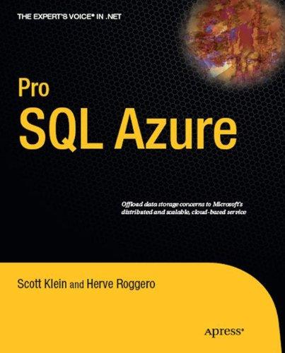 Pro SQL Azure (Expert's Voice in .NET)
