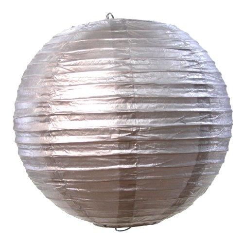 UPC 887394039515, Koyal Wholesale Paper Lantern, 10-Inch, Silver