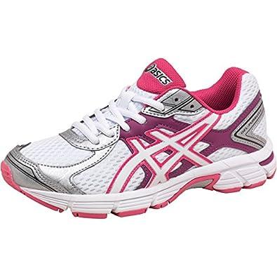 f1c056c85dc5 Womens Asics Gel Pursuit 2 Neutral Running Shoes White Snow Purple Girls  Ladies (3 UK 3 EUR 35.5)  Amazon.co.uk  Shoes   Bags