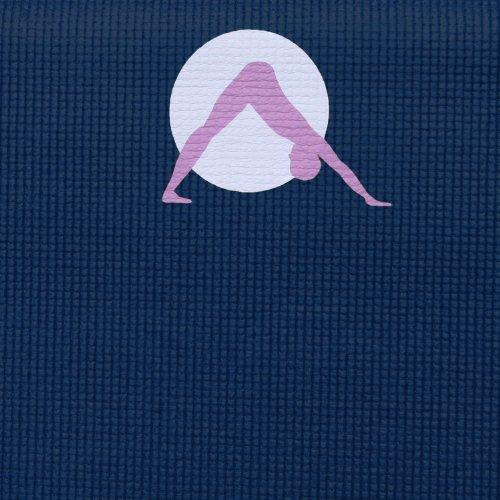 """Aurorae Thick 1/4"""" Premium Safe Yoga Mat Non Rosin"""