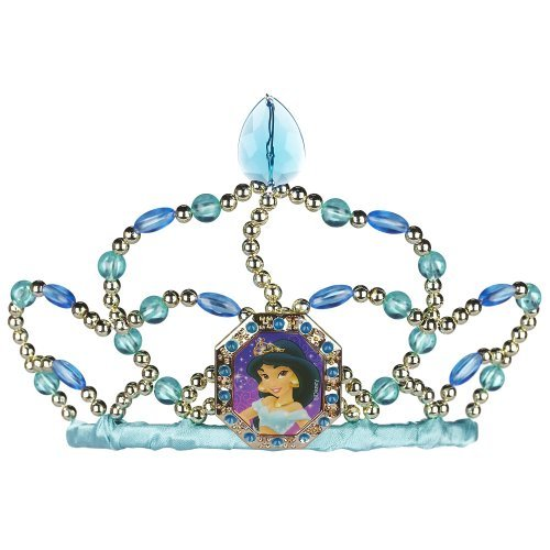 [Disney Princess Beaded Tiara - Jasmine] (Princess Jasmine Costumes Tiara)