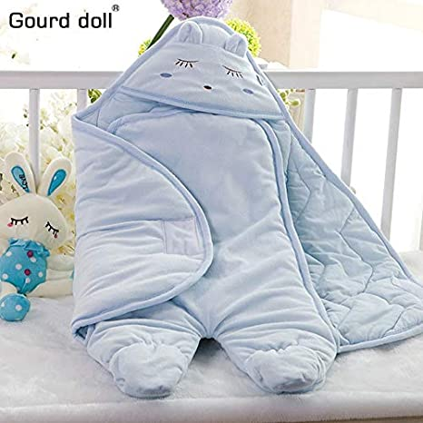 Amazon.com: 0-6M Baby Sleeping Bag Envelope for Newborn Swaddle Blanket Winter Footmuff Saco Bebe Cochecito Dormir Sac De Couchage Enfant: Sports & Outdoors