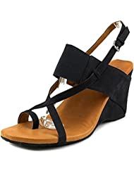 Gentle Souls Womens Irwin NU Wedge Open Toe Dress Sandal Shoe